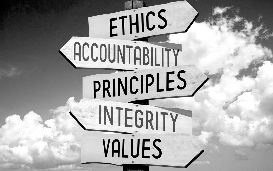 Ethics and Compliance – is it Good, Moral and/or an Obligation?